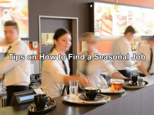 Tips on How to Find a Seasonal Job